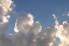Nederlandse wolken Stock Afbeeldingen
