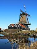 Nederlandse zaagmolen royalty-vrije stock afbeelding