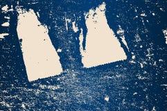 Nedfläckad blå bakgrund Royaltyfria Foton