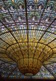 Nedfläckad kupol för exponeringsglas Royaltyfri Foto