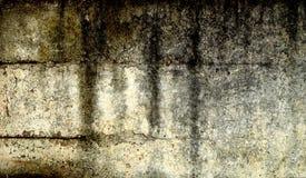 nedfläckad vägg för grunge Arkivfoton