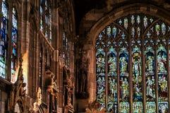 nedfläckada fönster för exponeringsglas Royaltyfri Foto