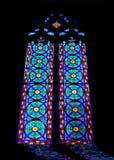 nedfläckadt fönster Royaltyfri Foto