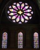 nedfläckadt fönster för 1 exponeringsglas Royaltyfri Foto