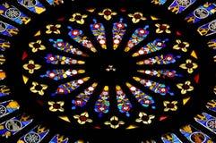 nedfläckadt fönster för 1 exponeringsglas Royaltyfria Bilder