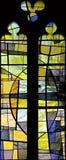 nedfläckadt fönster för 109 exponeringsglas Arkivbild