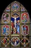 nedfläckadt fönster för 117 exponeringsglas Royaltyfria Bilder