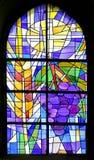 nedfläckadt fönster för 8 exponeringsglas Royaltyfri Foto