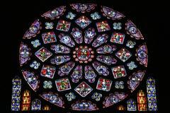 nedfläckadt fönster för exponeringsglas Fotografering för Bildbyråer