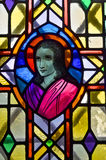nedfläckadt fönster för exponeringsglas Royaltyfria Bilder