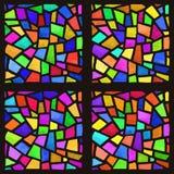 nedfläckadt fönster för exponeringsglas Arkivfoton