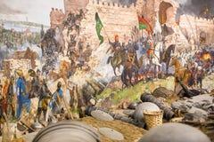 Nedgång av Constantinople Arkivfoton