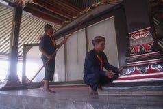 NEDGÅNG FÖR INDONESIEN TURISMBESÖK royaltyfri bild
