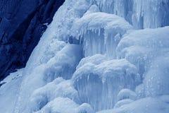 Is-nedgång Arkivfoto