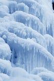 Is-nedgång Arkivfoton