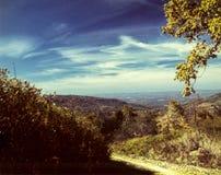 Nedgång i bergen av Pennsylvania Royaltyfri Foto
