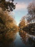 Nedgång i Utrecht Royaltyfria Bilder