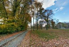 Nedgång på området för nytt hus i Nederländerna Arkivfoton