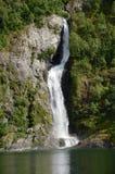 Nedgångar av Sognefjord Arkivfoto