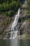 Nedgångar av Sognefjord Arkivfoton