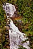 Nedgångar för vitt vatten Arkivfoton