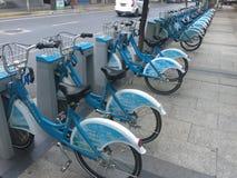 Nedgången i den delade cykelekonomin Royaltyfria Foton