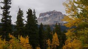 Nedgångfärger på det högsta berget, Northside Royaltyfria Foton