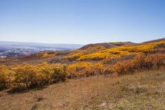 Nedgånglandskap Utah Royaltyfria Foton