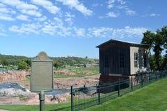 NedgångParkera-Sioux nedgångar, South Dakota Royaltyfria Bilder
