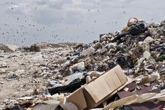 Nedgrävning av sopor, Royaltyfri Foto