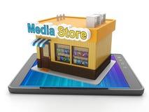 Nedladdningmobil app för ditt Royaltyfri Foto