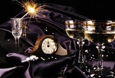 Nedräkning till det nya året Fotografering för Bildbyråer