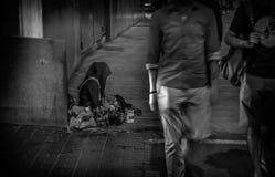 NEED ! Beggar ! Stock Image