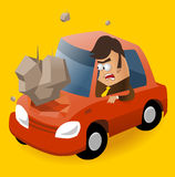 Need of Car insurance Royalty Free Stock Images