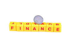 Need finance Royalty Free Stock Image