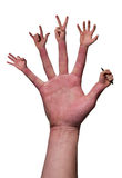 Need a hand? royalty free stock photography