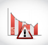 Need help business graph illustration Stock Photos