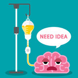 Need idea Stock Photo