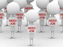 Need job Royalty Free Stock Image