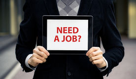 Need A Job? Stock Photos