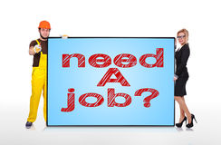Need a job Royalty Free Stock Images