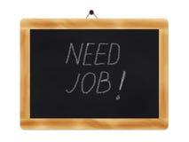 Need job-blackboard Stock Images