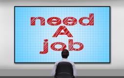 Need a job Stock Photo