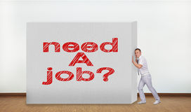 Need a job Royalty Free Stock Photography