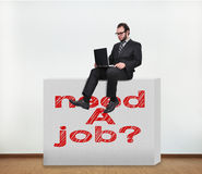 Need a job Royalty Free Stock Image