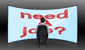Need a job Royalty Free Stock Photos