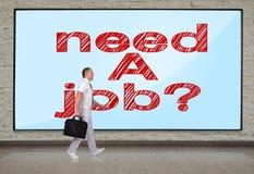 Need a job Stock Image