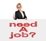 Need a job? Stock Photo