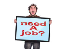 Need a job Royalty Free Stock Photo