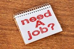 Need a job Stock Photos
